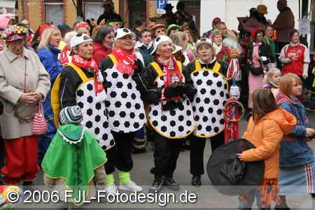 Eröffnung des Straßenkarnevals 2006 in Köln-Flittard