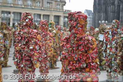 Müllmenschen und die Kölner Messe