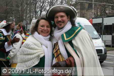 Jan von Werth - Weiberfastnachtsumzug 2009