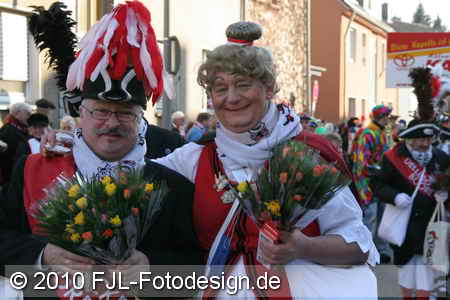Karnevalszug in Köln-Dellbrück