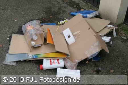 Müllentsorgung auf Flittarder Art!?