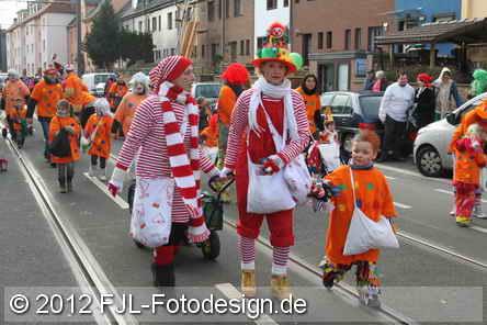 Karnevalszug 2012 in Köln-Zollstock