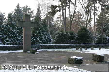 Winter-Impressionen vom Kölner Nordfriedhof