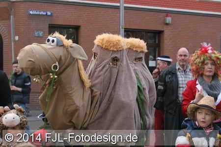 Karnevalszug in Köln-Ehrenfeld