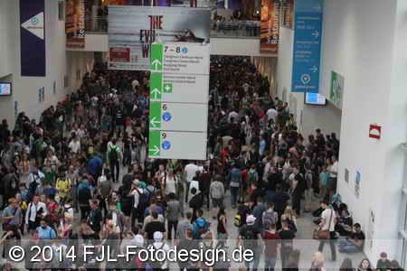 gamescom 2014 (Donnerstag)
