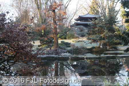 Japanischer Garten an Silvester 2016