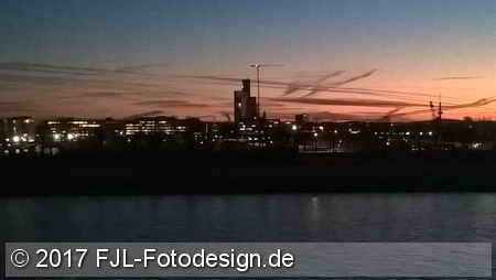 Rhein-Impression vom 20. Januar 2017