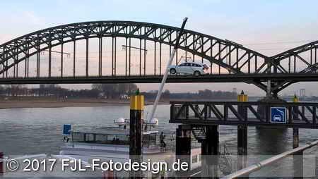 Rhein-Impression vom 27. Januar 2017