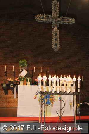 Erstkommunion in St. Bruder Klaus am 23. April 2017
