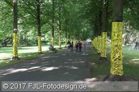 Schlosspark Stammheim Kunst 2017