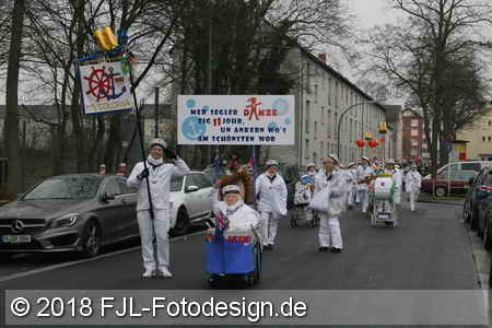Karnevalszug in Köln-Mauenheim 2018