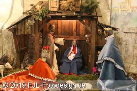Heilige drei Könige in Flitard