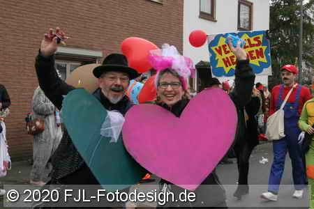 Karnevalszug in Köln-Mauenheim 2020