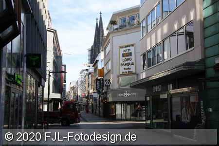 Köln in Corona Zeiten 2020
