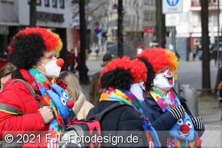 Karnevalssonntag 2021 in Köln